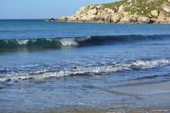 Baie de Selmun (baie d'iebaħ de ¡ d'ImÄ) Photo libre de droits