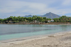 Baie de turquoise Photographie stock