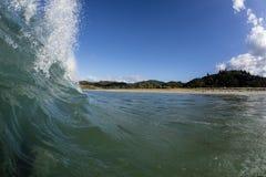 Baie de Waikawau, Coromandel, NZ photo stock
