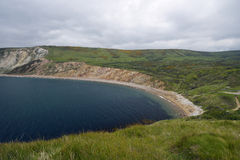 Baie de Worbarrow Photos stock