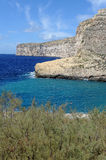 Baie de Xlendi Photo stock