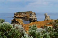 Baie des îles côtières dans Victoria Image stock