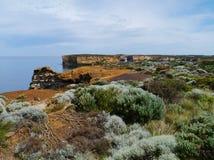 Baie des îles côtières dans Victoria Photographie stock