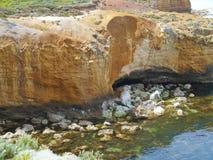 Baie des îles côtières dans Victoria Photo stock
