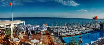 Baie des anges la Côte d'Azur Photographie stock libre de droits