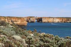 Baie des martyres à la grande route d'océan, Victoria, Australie image libre de droits
