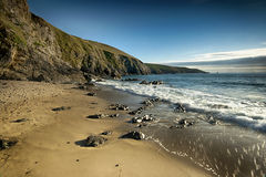 Baie des trepasses Royalty Free Stock Photography