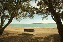 Baie di Auckland in Nuova Zelanda Immagini Stock Libere da Diritti