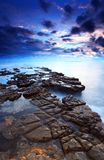 Baie Dorset de Kimmeridge Photographie stock libre de droits