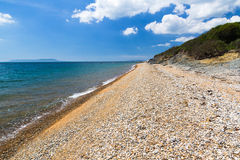 Baie Dorset de Ringstead Photographie stock