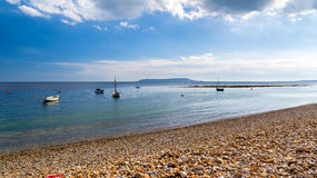 Baie Dorset de Ringstead Photos stock