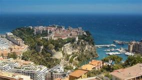 Baie du Monaco chez Cote D'Azur France banque de vidéos