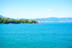 Baie Italie d'istmo de Le grazie image stock