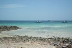 Baie Koh Lan de Tawan : Île Cholburi Thaïlande Photos libres de droits