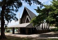baie kyrkliga storslagna mauritius Arkivbilder