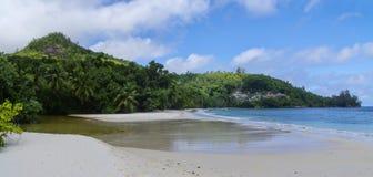 Baie Lazare, Seychelles Photographie stock libre de droits