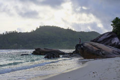 Baie Lazare, Seychelles Royalty Free Stock Photos