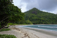 Baie Lazare, Seychelles Stock Image