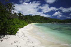 Baie Lazare, Tropical paradise, Seychelles Stock Photo