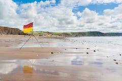 Baie les Cornouailles de Widemouth photos libres de droits