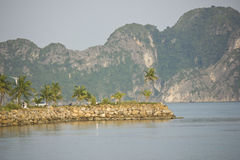 Baie long d'ha - Viet Nam Images stock