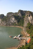 Baie long d'ha - Vietnam Image stock