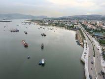 Baie long d'ha, Vietnam du Nord Photographie stock libre de droits
