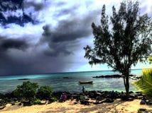 Baie magnífico, Mauricio Foto de archivo libre de regalías