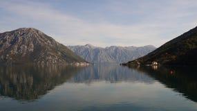 Baie Monténégro de Boko Photo stock
