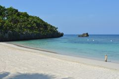 Baie occidentale, Roatan Images stock