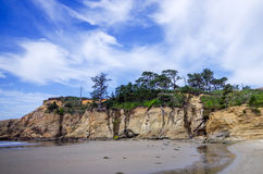Baie Orégon de Depoe Photo libre de droits