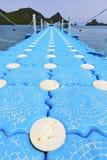baie phangan d de lomprayah de jetée de kho de l'Asie et sud une mer Image stock