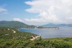 Baie Sardaigne de Caccia de capo image stock