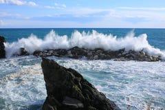 Baie scénique en Italie images stock