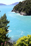 Baie scénique en Italie image libre de droits
