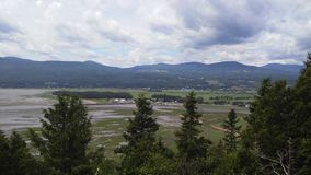 Baie-St-Paul, Charlevoix. View I had from an observatory during one of my road trip stock photos