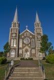 Baie-St-Paul kyrka Royaltyfria Foton