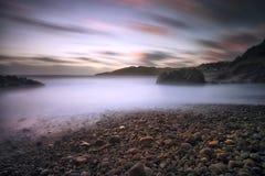 Baie Swansea de Rotherslade Photo stock