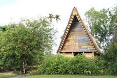 Baie traditionnelle de Palauan images stock