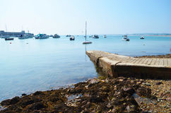 Baie tranquille photos libres de droits