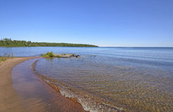 Baie tranquille sur les les Great Lakes Image stock