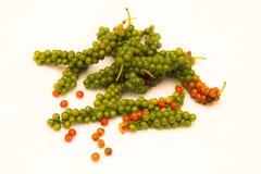 Baies épicées mûries de poivre Photo libre de droits