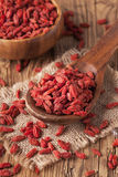 Baies de Goji Photographie stock