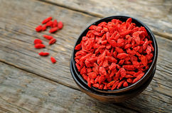 Baies de Goji Photos stock