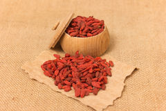 Baies de Goji Image stock
