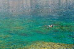 Baies du ` s d'Anthony Quinn, se baignant photographie stock