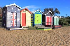 Baigner des boîtes dans l'Australie Images libres de droits