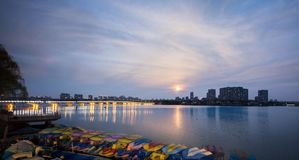 Nanjing Baijia Lake Stock Photo