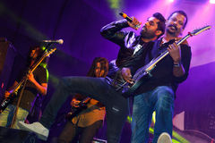 Baiju Dharmajan, Syndicate live performance Royalty Free Stock Photo