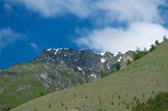 Baikal湖的狂放和落寞山 免版税库存图片